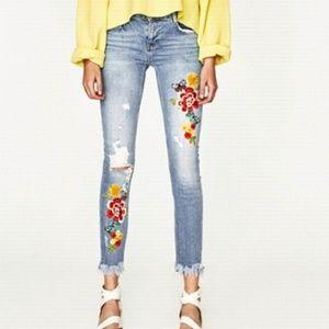 Zara trafaluc slouchy jeans